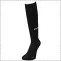 AND1 High-Supporting Knee Hi Socks 黒/白