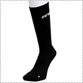 AND1 High-Supporting Crew Socks 黒/白