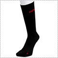 AND1 High-Supporting Crew Socks 黒/赤