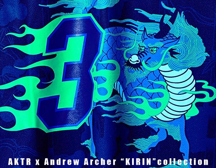 """AKTR x Andrew Archer """"KIRIN (麒麟)""""コレクション"""