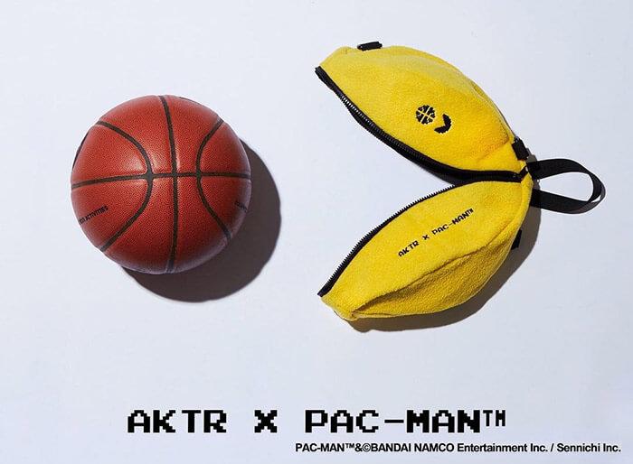 設立10周年の「AKTR」と生誕40周年の「PAC-MAN」とのコラボアイテム