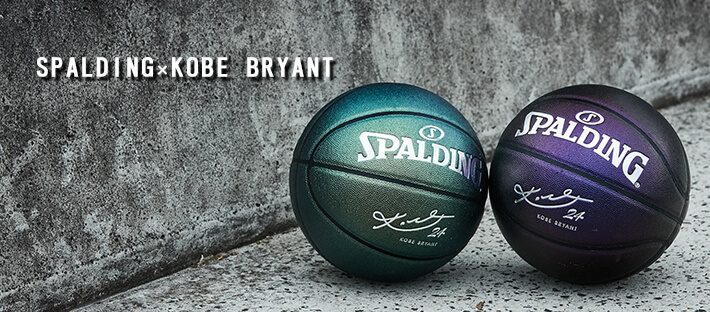 SPALDING(スポルディング)x KOBE BRYANT(コービー・ブライアント)コラボレーションボール!!