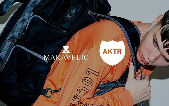 AKTRxMAKAVELICの新作コラボバッグが登場!!