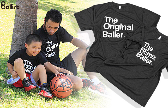 親子で着よう!The Original&The REmix Baller Tee登場!!