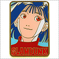 INOUE TAKEHIKO SLAMDUNK ピンバッヂ(角型)