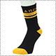 Arch Line Crew Mid. Socks