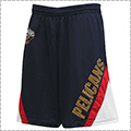 UNK Team Angled Stripe Mesh Shorts