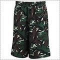 Ballaholic Camo Street Zip Shorts