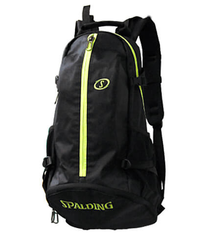 SPALDING Cager Bag 黒/ライムグリーン