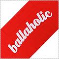 Ballaholic Logo Jacquard Bath Towel