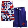 Ballist Hibis Camo RV Shorts USA/ネイビー