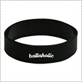 Ballaholic Logo Wide Rubberband 黒