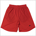 Ballaholic Basic Zip Shorts 赤/黒