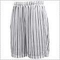 AKTR Brush Pinstripe Mesh Shorts