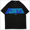 Arch Sporty Logo Tee 黒/ターコイズ