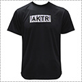 AKTR Summer Stripe Box Logo Sports Tee