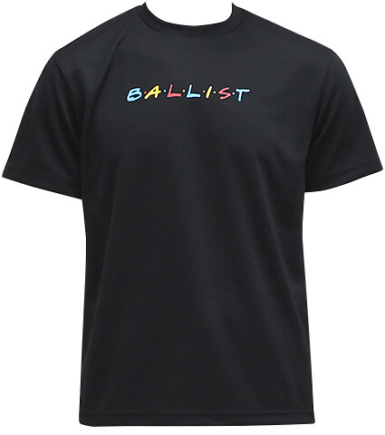Ballist FRIENDS Logo Tee 黒