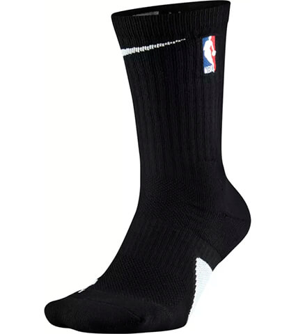 NIKE Elite Crew Socks NBA 黒/白