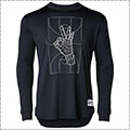 UNDER ARMOUR UA SC30 Tech Trey Okay L/S 黒