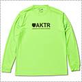 AKTR Logo L/S Sports Tee