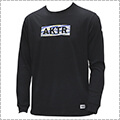 AKTR Scratch Camo Box Logo L/S Sports Tee