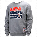 Mitchell&Ness USA Basketball Logo Crew Team USA 灰
