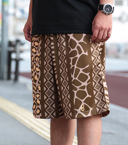 Ballist Safari Zipper Shorts ベージュ