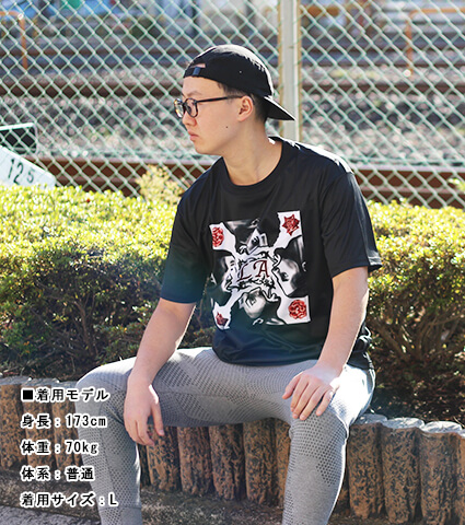 Ballist One City Two Teams Tee 黒
