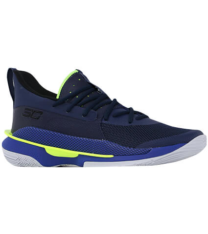 "UNDER ARMOUR UA Curry 7 ""Dub Nation"" アカデミー/ロイヤル/黒"