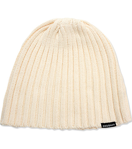 AKTR 68&BROTHERS Knit Cap 白