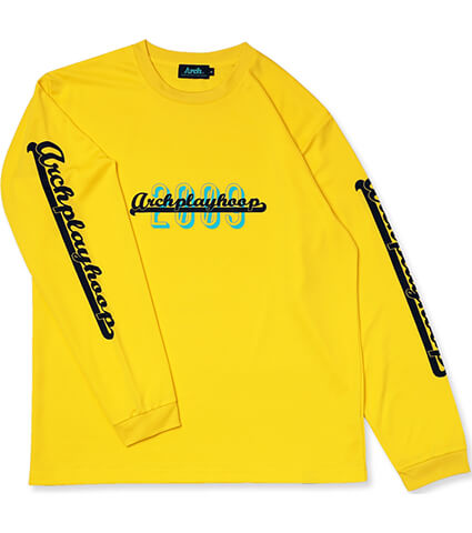 Arch Playhoop L/S Tee 黄