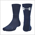 UNDER ARMOUR UA Next Level Crew Socks ミッドナイトネイビー