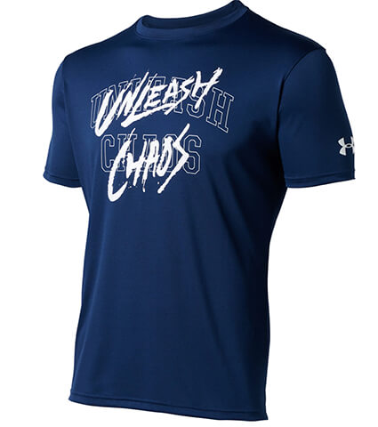 UNDER ARMOUR UA Baseline Tech Qrtly Mantra Tee アメリカンブルー