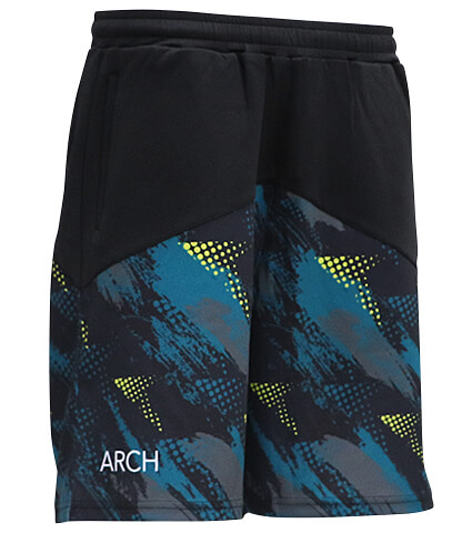Arch Updraft Shorts 黒/ティール