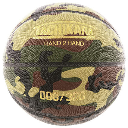 TACHIKARA ORIGINAL LEATHER BASKETBALL Woodland Camouflage ウッドランドカモフラージュ/7号球