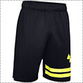 UNDER ARMOUR UA Baseline 10in Court Short 黒/X-Ray