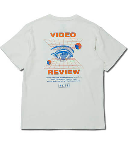AKTR Video Review Tee 白