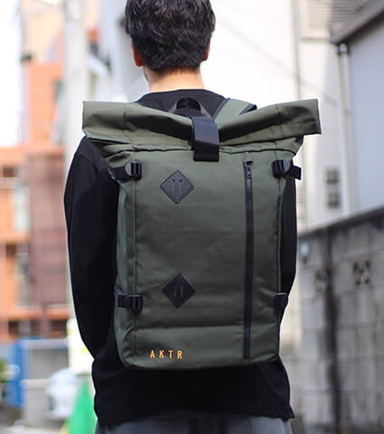 AKTR Urban Backpack 緑