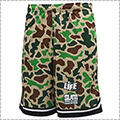 LIFE × SLAM Island Camo Game Shorts ベージュカモ