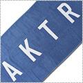AKTR Bath Towel Logo