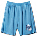 AKTR Monogram Mesh Shorts