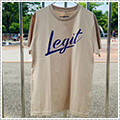LEGIT Brush Up Tee ベージュ