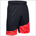 UNDER ARMOUR UA Baseline 10in Short 黒/赤/ベータ