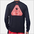 UNDER ARMOUR UA TECH Delta Logo LS 黒