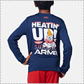 [キッズサイズ]UNDER ARMOUR UA Y TECH Heatin' Up LS アカデミー