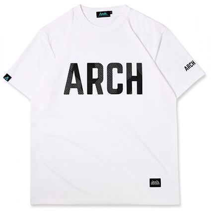 Arch Sport Lettered Tee 白