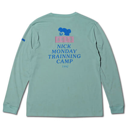 AKTR Nick Monday Training CMP L/S ミント