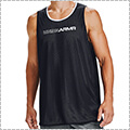 UNDER ARMOUR UA Baseline Reversible Tank 黒/白/白