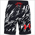 UNDER ARMOUR UA Printed Retro Short 黒/ベータ