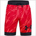 UNDER ARMOUR UA Printed Retro Short 赤/黒
